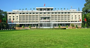 Reunification Hall (Also known as Independence Palace) in Ho Chi Minh City.