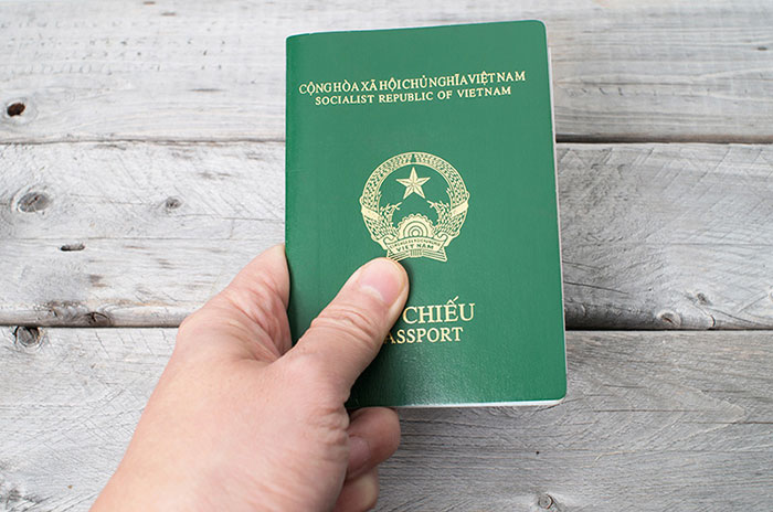 Vietnam Passport