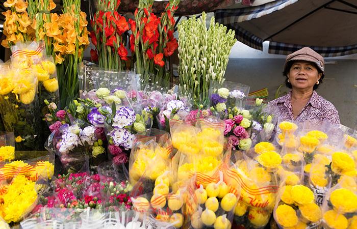 Hai Phong Flower Market