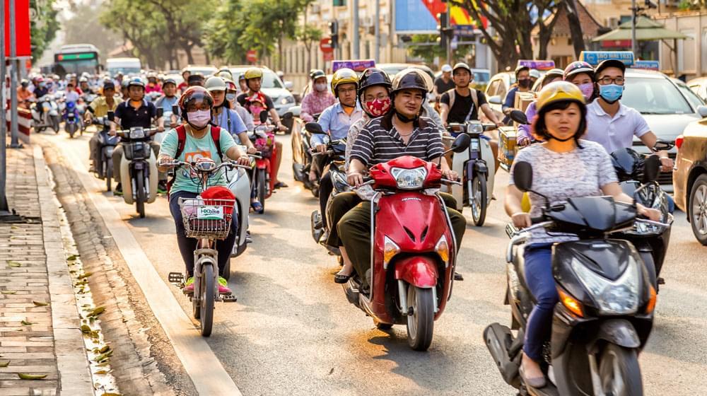 Motorcycles Around Vietnam